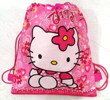 мешок для обуви Hello kitty   р-р 36*28смLD-23-40р