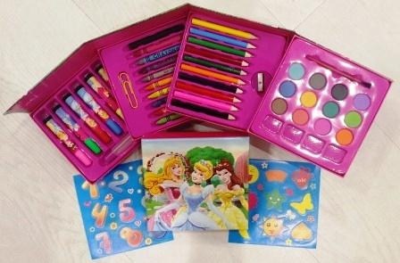 набор для творчества   60пр. Princess-                         10 цветных к