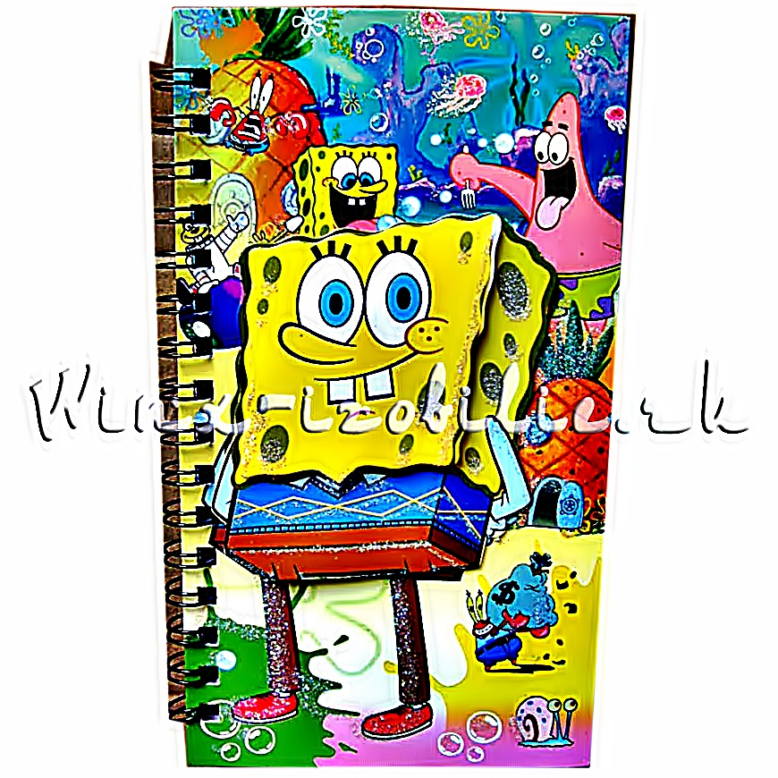 записная книжка  А6                             Sponge bob             А-13