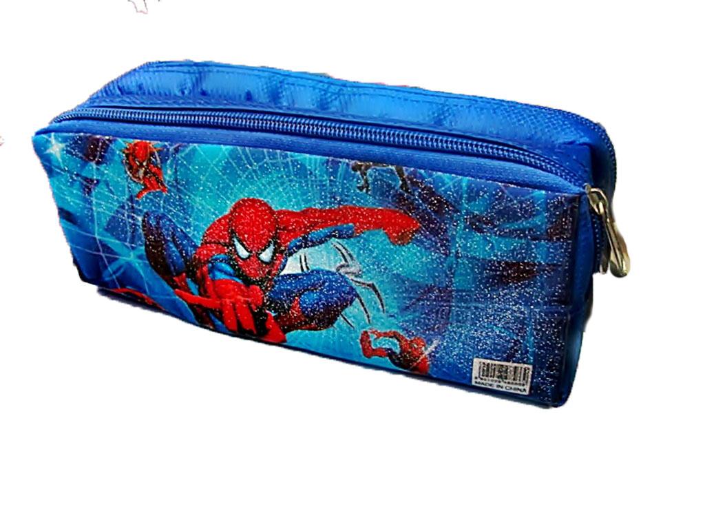 пенал-косметичка                         два отделения   Spider-man